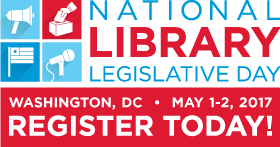 2017 National Library Legislative Day Logo