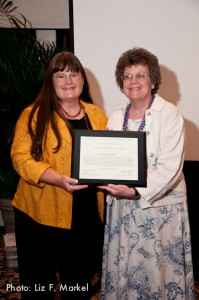 Cathleen Bourdon Services Award