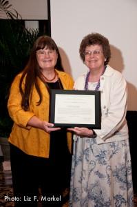 Cathleen Bourdon Services Award