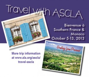 Travel with ASCLA Southern France