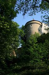 Daliborka tower at the Prague Castle photographed from the Deer Moat. by Ondřej Špaček